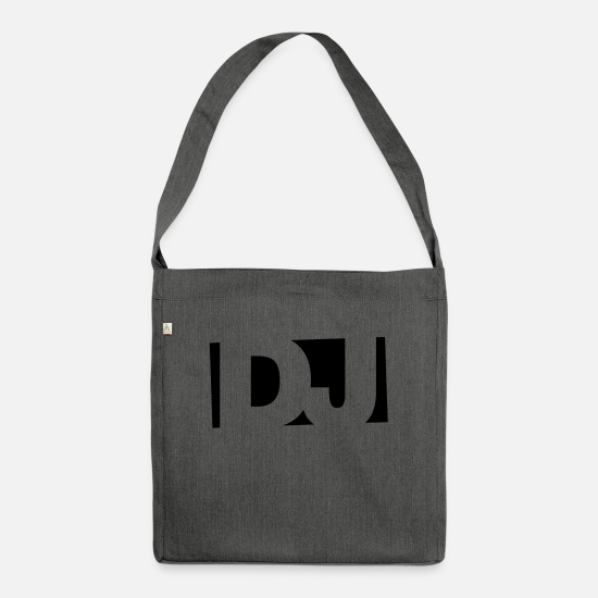 Techno Bags & Backpacks - DJ 1C - Shoulder Bag recycled dark grey heather