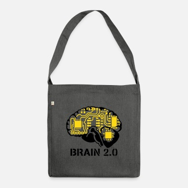 Play brain 2.0 - Shoulder Bag recycled