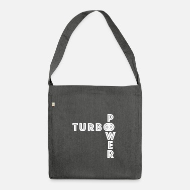 Turbo turbo - Shoulder Bag recycled