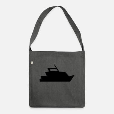 Yacht yacht - Shoulder Bag recycled