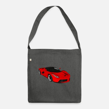 Car Sports car sports car racing car convertible - Shoulder Bag recycled