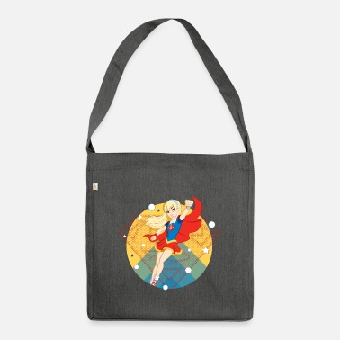 Dc Super Hero Girls DC Super Hero Girls Supergirl - Sac bandoulière recyclé