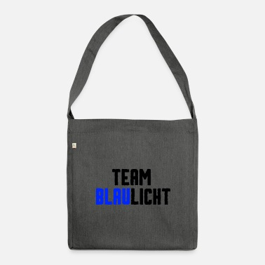 Blue Light Team blue light - Shoulder Bag recycled