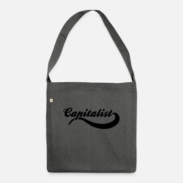 Capitalist capitalist - Shoulder Bag recycled