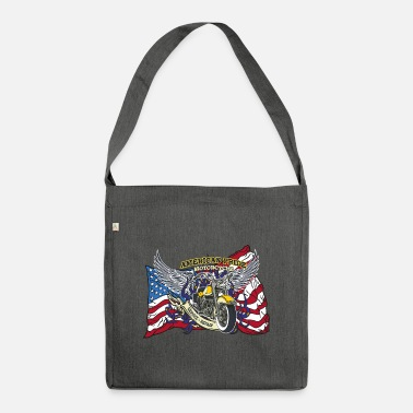 American Pride AMERICAN PRIDE MOTORCYCLE SERVICE & REPAIR - Shoulder Bag recycled