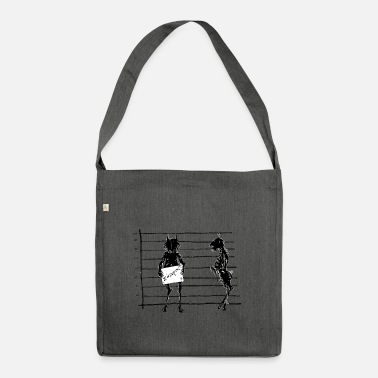 Satyr satyr - Shoulder Bag recycled
