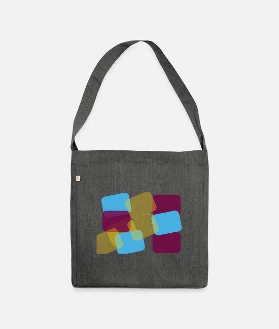 Sassy Bags & Backpacks - colour - Shoulder Bag recycled dark grey heather