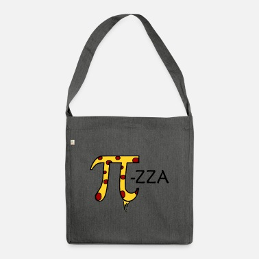 Pi ZZA finish - Shoulder Bag recycled