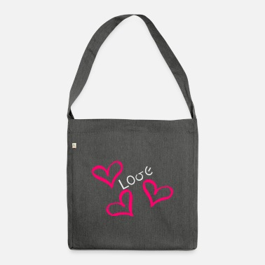 ValentinesDay Valentine's Day Love Love - Shoulder Bag recycled