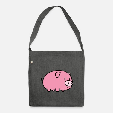 Little pig - Shoulder Bag recycled