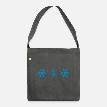 Snowing snow - Shoulder Bag recycled