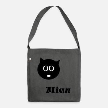 Cat, kitten, meow - Shoulder Bag recycled