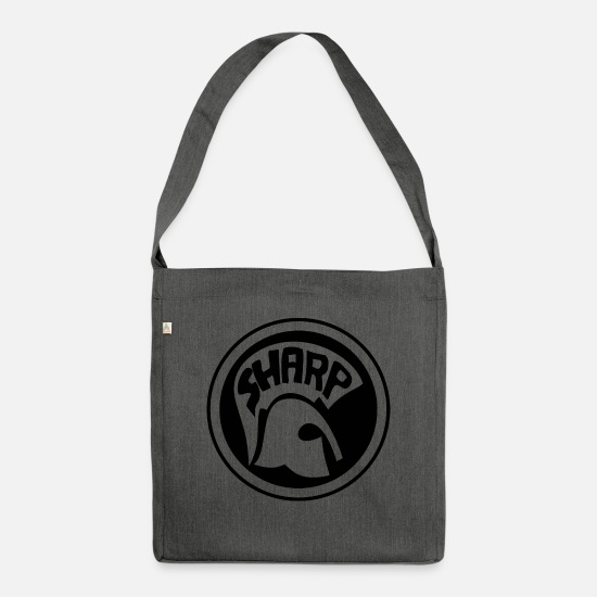 Skinhead Bags & Backpacks - Sharp - Shoulder Bag recycled dark grey heather