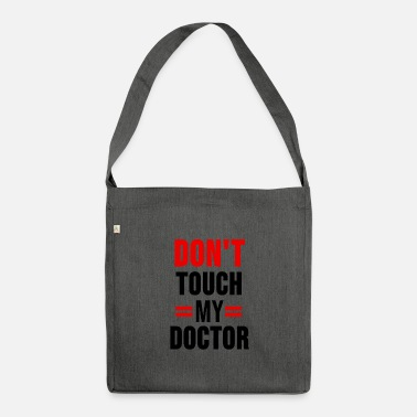 Doctor On Call Doctor shirt doctors doctor student emergency doctor gift - Shoulder Bag recycled