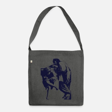 Graphic Art Art Vintage Graphic - Shoulder Bag recycled