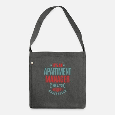 Apartment Apartment Manager - Shoulder Bag recycled