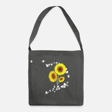Drawing Painting Symbol Flower - Shoulder Bag recycled