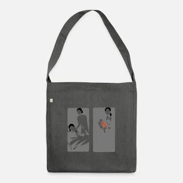 Birth birth - Shoulder Bag recycled