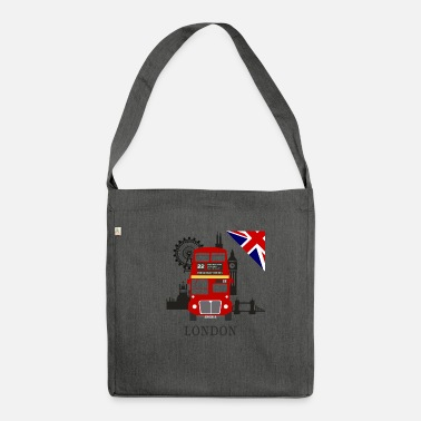Sightseeing England, London, sightseeing, - Shoulder Bag recycled