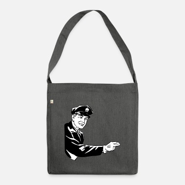 Policeman Policeman - Shoulder Bag recycled