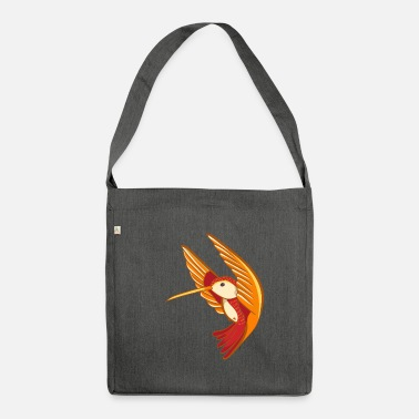 Hum humming-bird - Shoulder Bag recycled