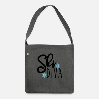 Ski For Ski diva - Shoulder Bag recycled