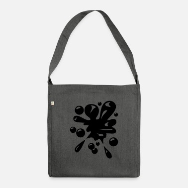 Blob of motif to print on hoodie or t-shirt - Shoulder Bag recycled