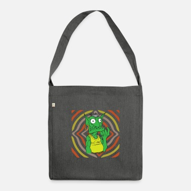 Goblin Retro hypnosis goblin - Shoulder Bag recycled