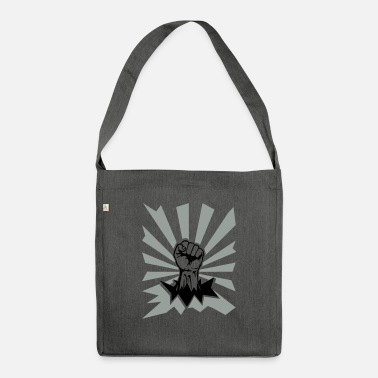 Fist Fist - Shoulder Bag recycled