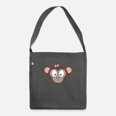 Cute Monkey cute monkey - Shoulder Bag recycled