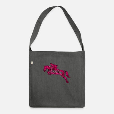 Show jumper by Bellacoco pink roses - Shoulder Bag recycled