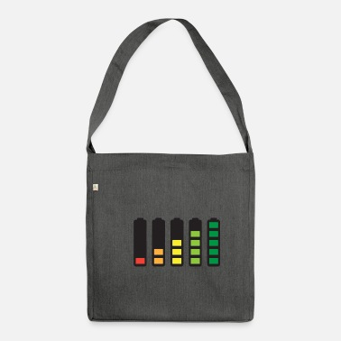 Battery Battery - Shoulder Bag recycled