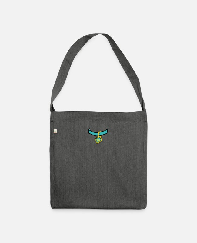 Drawing Bags & Backpacks - Scooby Medal - Shoulder Bag recycled dark grey heather