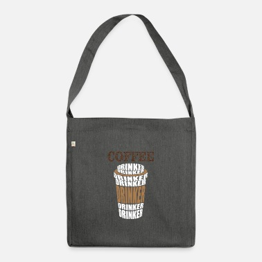 Coffee Drinkers Certified coffee drinker coffee - Shoulder Bag recycled