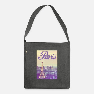 State Capital Paris Capital of France - Shoulder Bag recycled