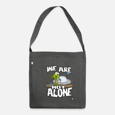 we are not alone - Shoulder Bag recycled