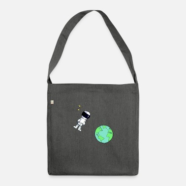 Astronaut astronaut - Shoulder Bag recycled