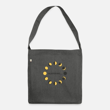 Buffer Buffering by Dougsteins - Shoulder Bag recycled