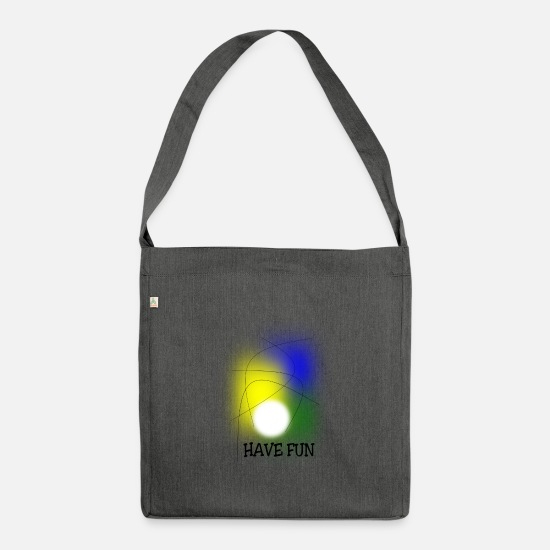 Joy Bags & Backpacks - Have Fun - Shoulder Bag recycled dark grey heather