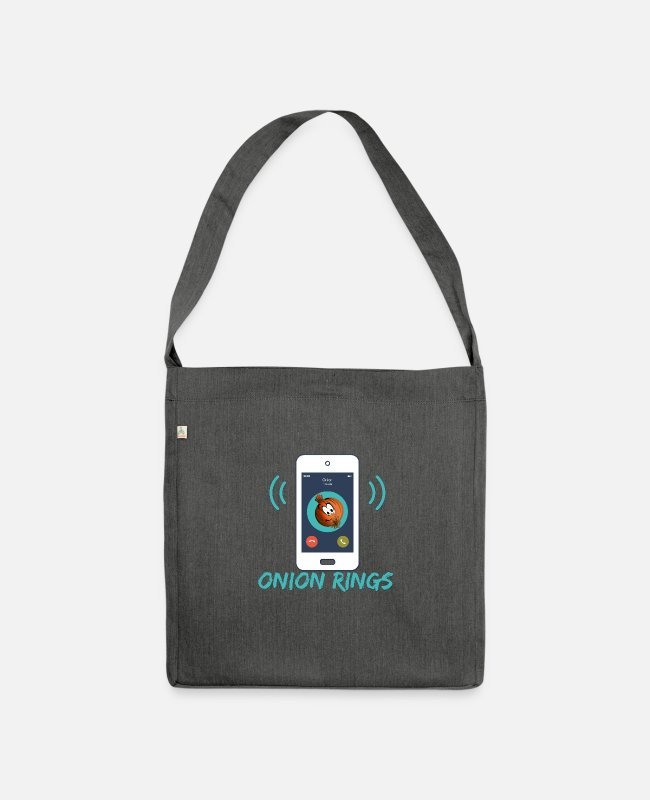 Call Bags & Backpacks - ONION RINGS - Shoulder Bag recycled dark grey heather