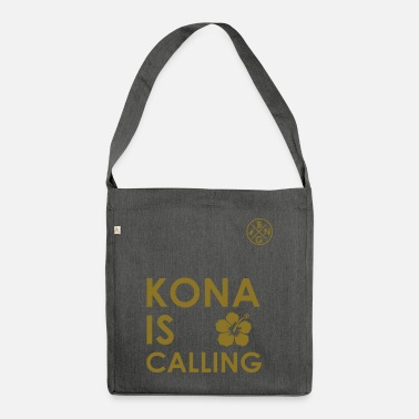 Triathlon KONA IS CALLING - Umhängetasche aus Recyclingmaterial