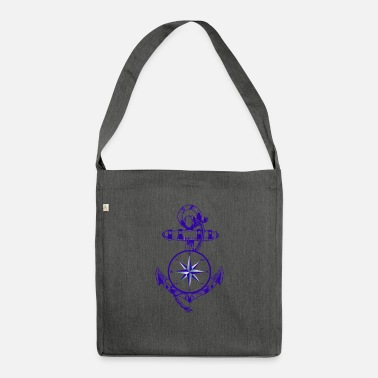 Maritime Anker Maritime Maritime Compass - Shoulder Bag recycled