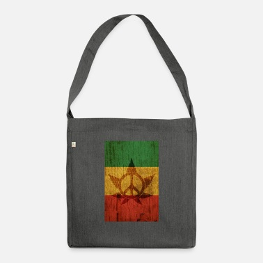 Peace poster - Shoulder Bag recycled