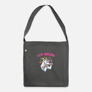 Gym Gym Unicorn - Shoulder Bag recycled