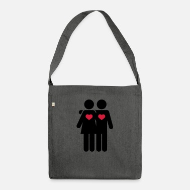 Sexy Lovers - Shoulder Bag recycled