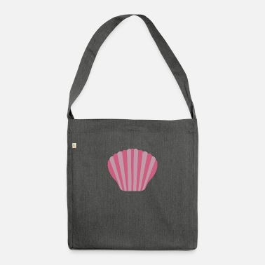 Marine Underwear Pink shell - Shoulder Bag recycled