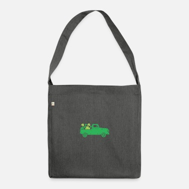 Alcoholic Funny Irish Quote St Patricks Day Design - Shoulder Bag recycled