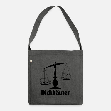 Heavyweight Heavyweight Justitia Libra Justice shirt - Shoulder Bag recycled