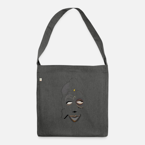 Artfetish Bags & Backpacks - Kaba_Art - Shoulder Bag recycled dark grey heather