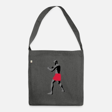 Laugh sport club - Shoulder Bag recycled